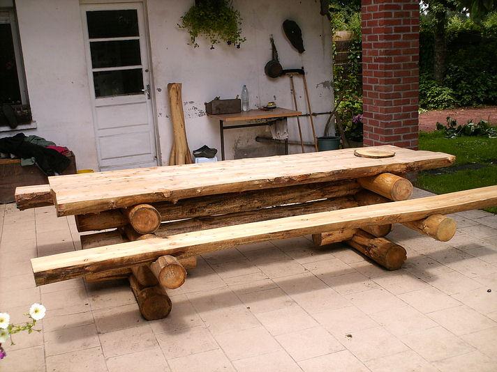 Table En Bois Artisanale